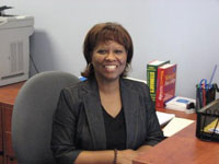 Carolyn Harris : Administrative Assistant to the Director