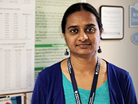 Geetha Chittoor, Ph.D. : <h4>Research Scientist, Voruganti Lab</h4>