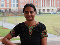 Geetha Chittoor, Ph.D. : <h4>Postdotoral Research Associate, Voruganti Lab</h4>