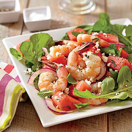 Melon and Shrimp Recipe