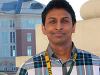 Chamath Chandrasekera : <h4>Research Technician, S. Krupenko Lab</h4>