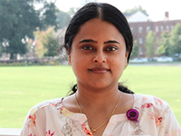 Manya Warrier, Ph.D. : <h4>Research Assistant Professor, Nutrition</h4>