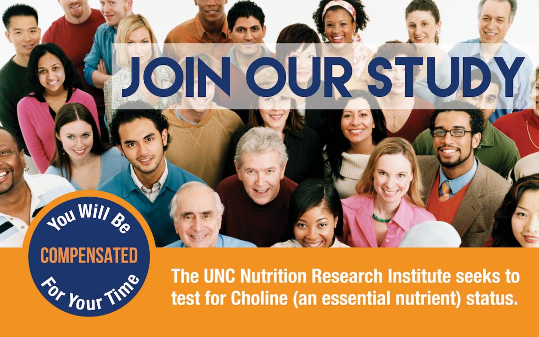 Choline Status Study