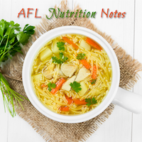 Nutrition Notes from AFL@JWU – April 18