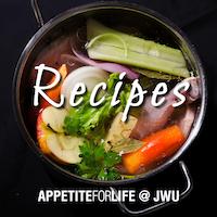 AFL@JWU Recipes – April 18
