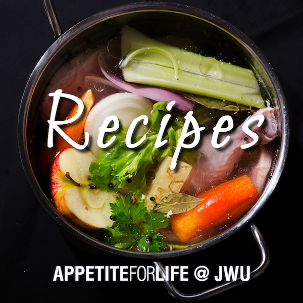 AFL@JWU Recipes – April 18