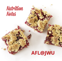 AFL@JWU Nutrition Notes – October 17, 2018