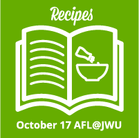 AFL@JWU Recipes – October 17, 2018