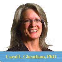 February Faculty Focus: Carol L. Cheatham, PhD
