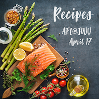 AFL@JWU Recipes – April 17, 2019