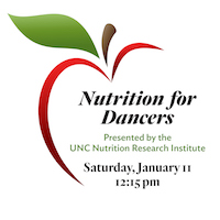 Nutrition for Dancers @ Piedmont School of Music & Dance