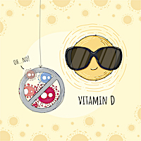 Fighting Vitamin D Deficiency May Lower Risk of Contracting COVID-19 Especially among Common High-risk Groups