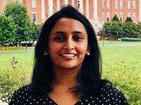 Faustina Jeyaraj : Graduate Student, Voruganti Lab